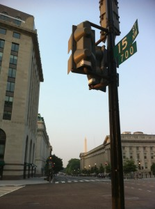 The Washington Monument from 15th St.