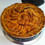 My ill-fated apple pie. The low point of my baking career. (Okay, maybe that was the over-tequilaed margarita cupcakes. Those were pretty awful.)