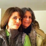 Mom and I ready to go out for New Year&#039;s partying!