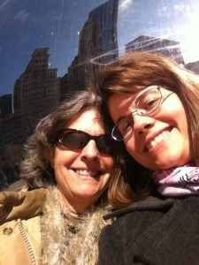And here we are with the Bean as a backdrop. It's seriously awesome, which you really can't tell from these pictures.
