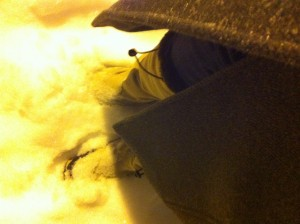 Well done, thou good and faithful snow boot.